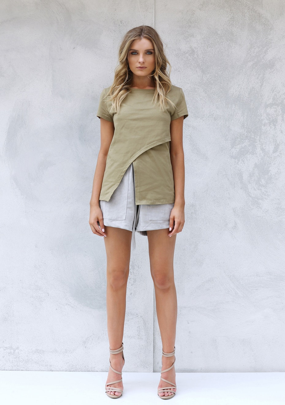 Madison - MILLIE TEE - KHAKI