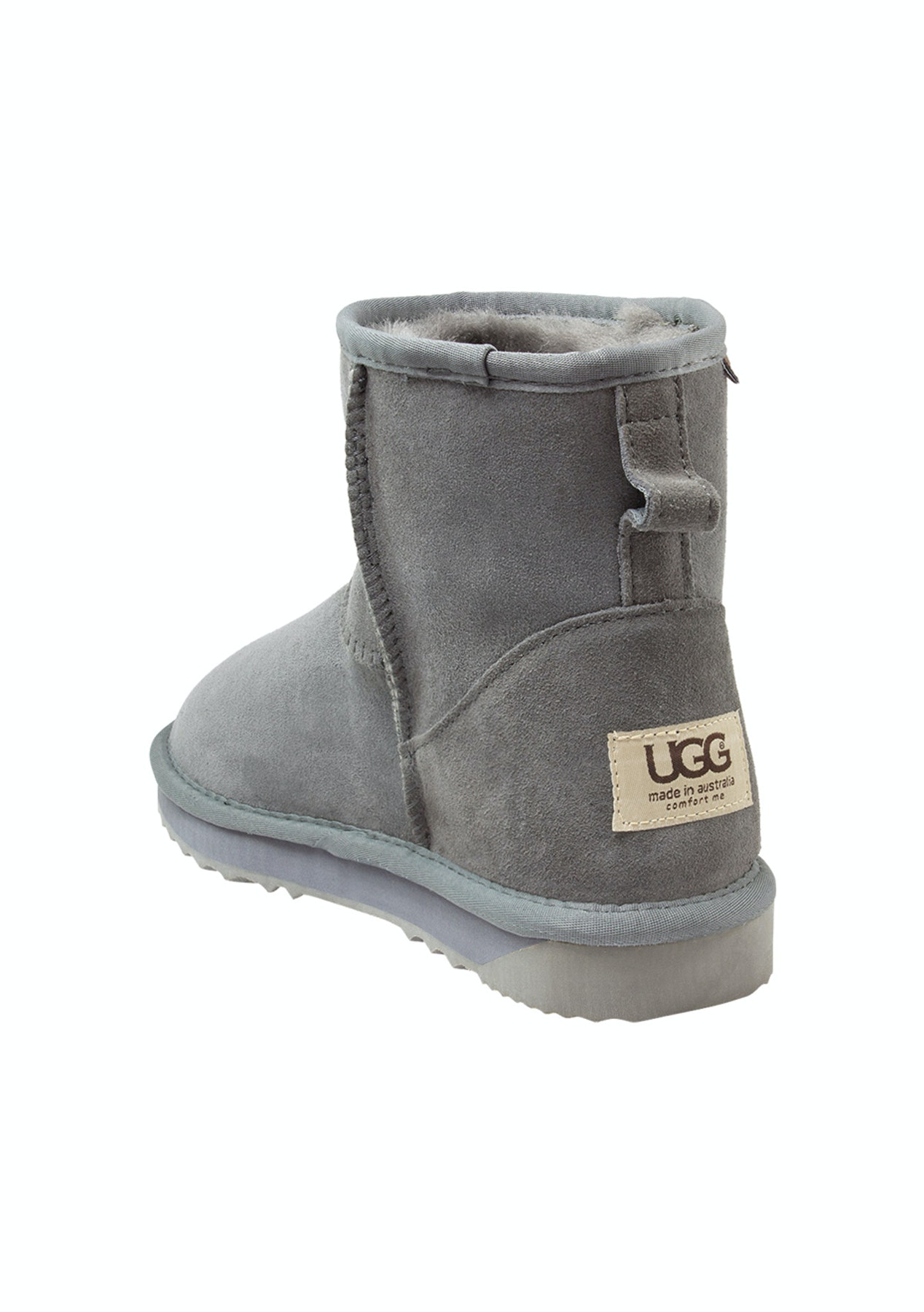 19565d61511 Ugg Comfort Me Australia Ultra Short Classic Grey-10
