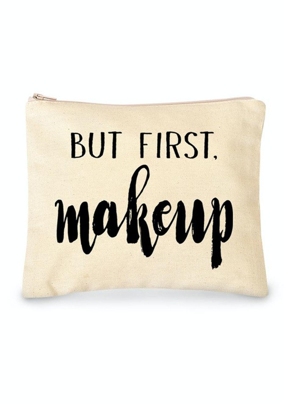 Make-up Bag - Natural