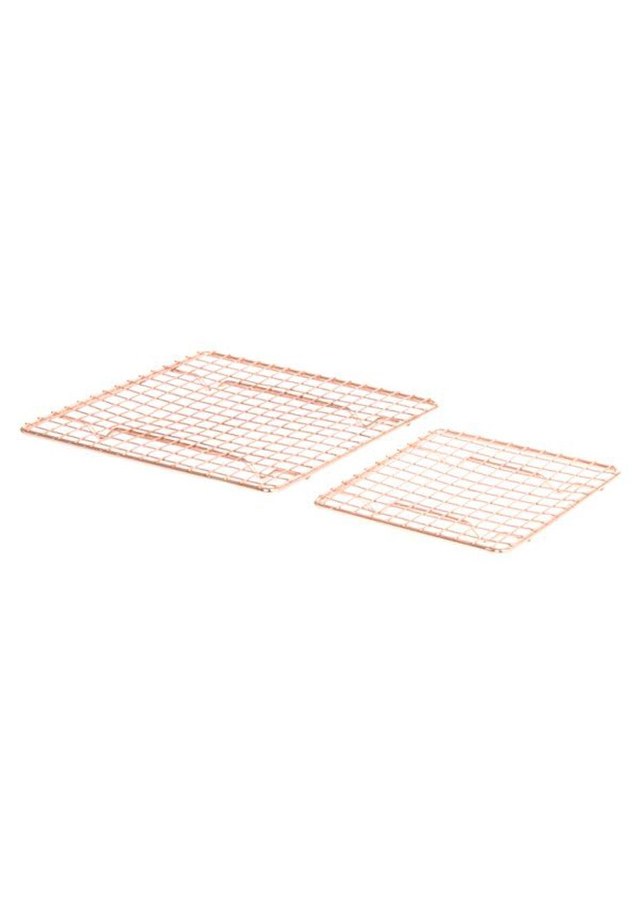 Pt Home - Set of 2 Trivet 'Wired Raster' - Copper
