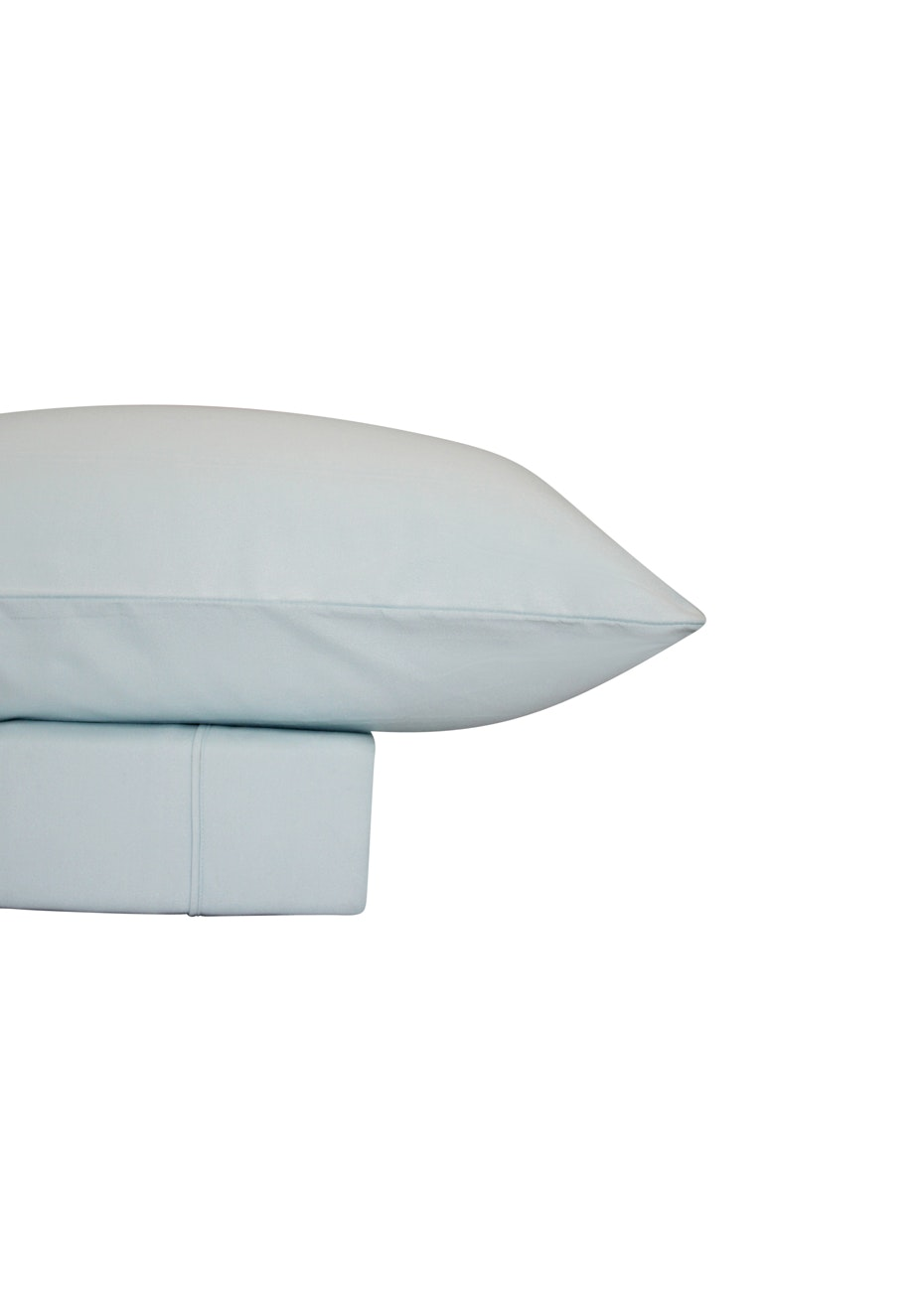 Thermal Flannel Sheet Sets - Ice - King Single Bed