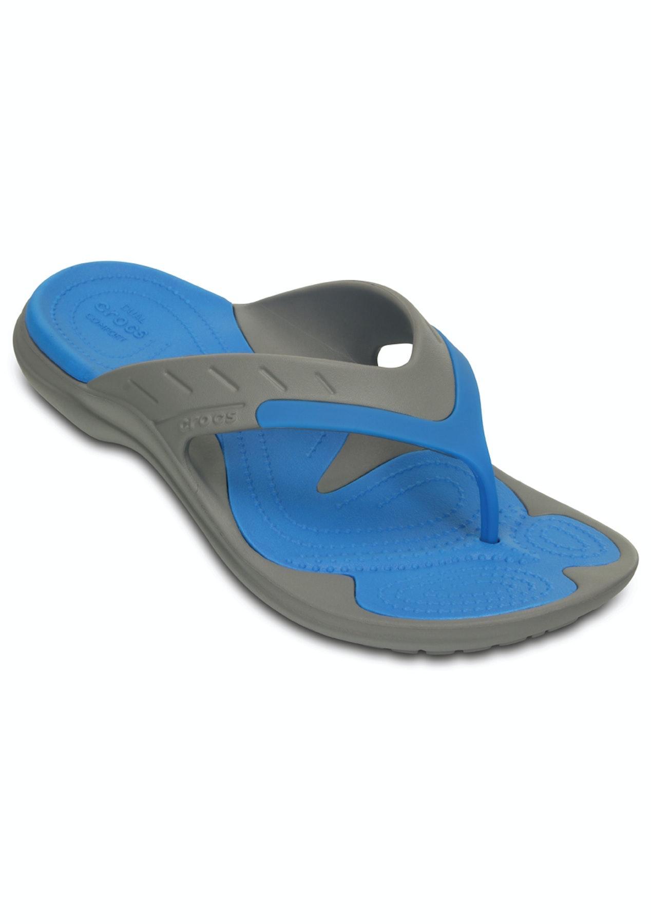 78132e997e71 CROCS - Modi Sport Flip - Smoke Ocean - Crocs - Onceit