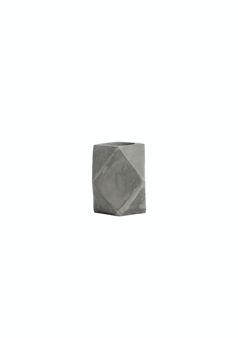 6 PACK General Eclectic - Tealight Cement Diamond
