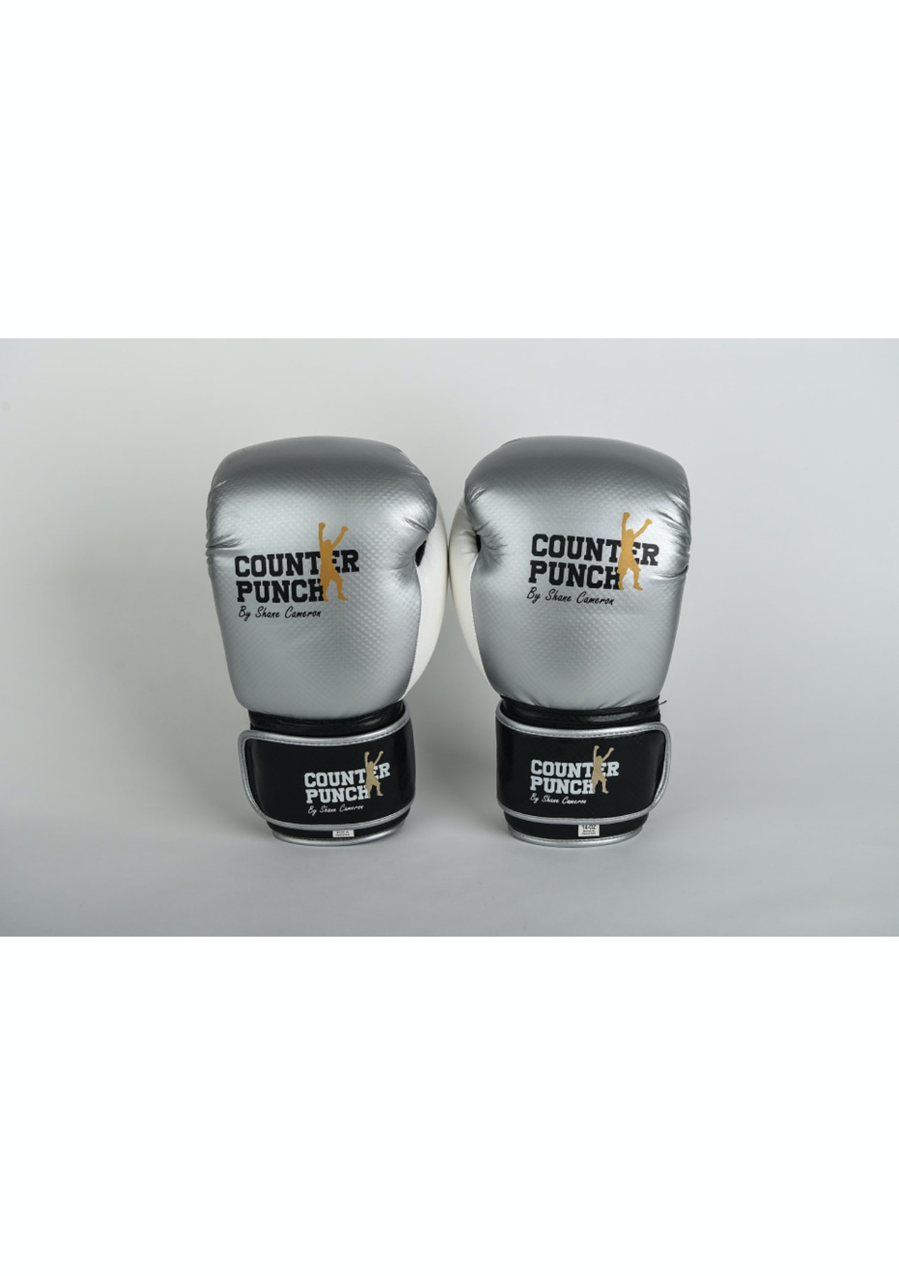 Counter Punch by Shane Cameron - Gloves – Synthetic - Silver