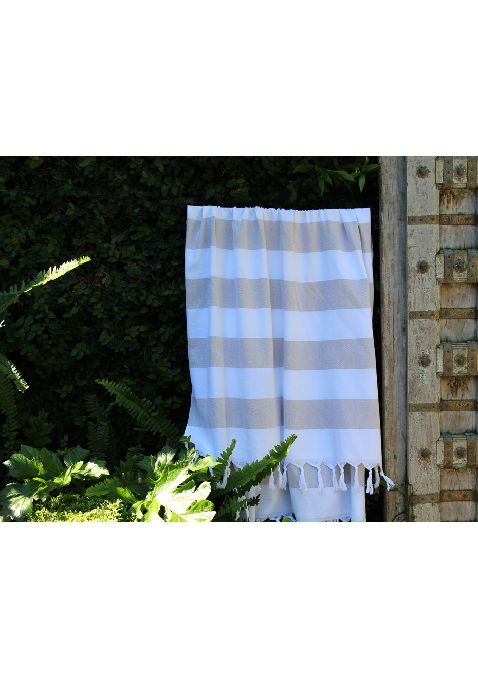 Cabana Beige Turkish Towel