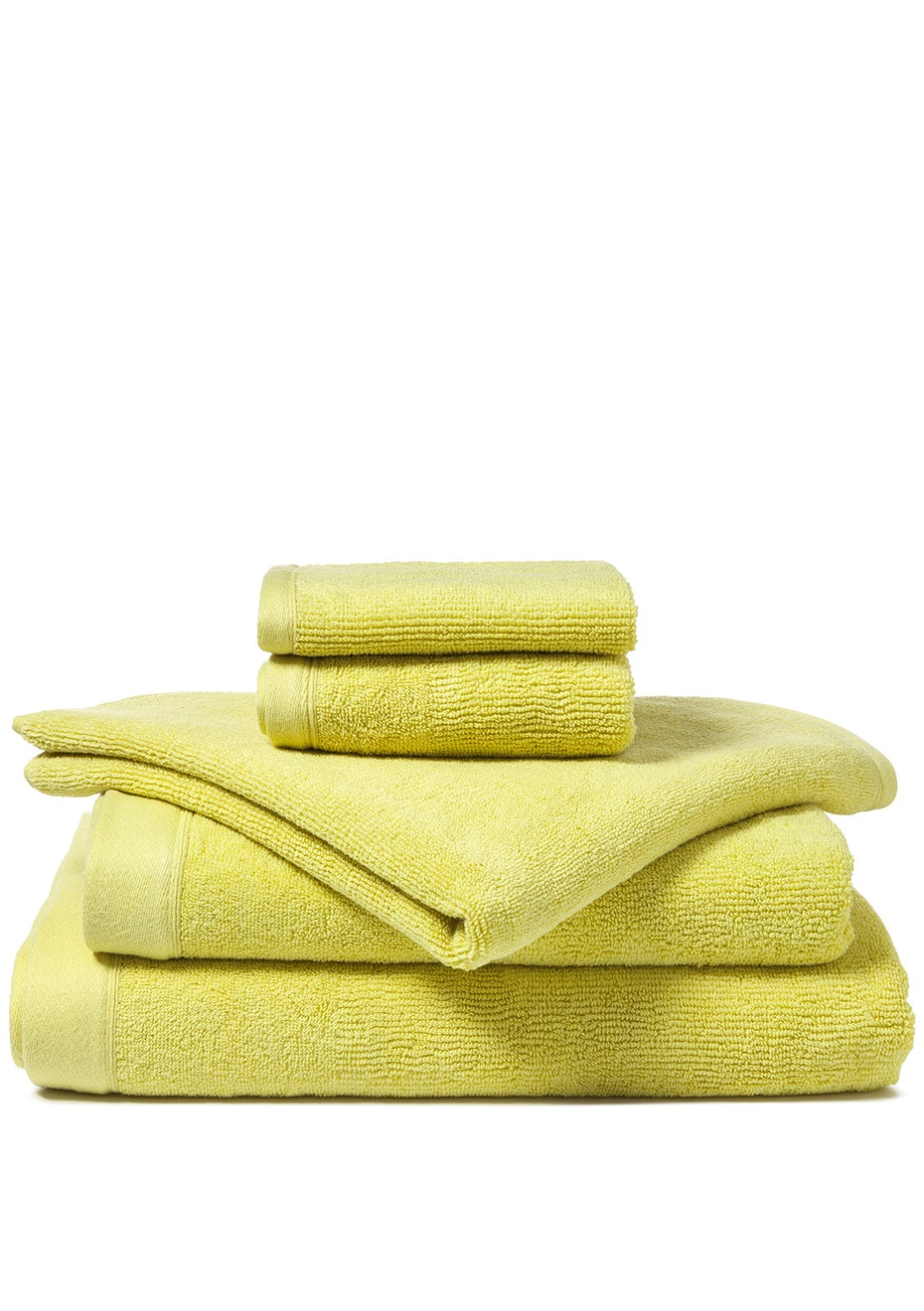 Canningvale - Corduroy Rib Bath Sheet Citron