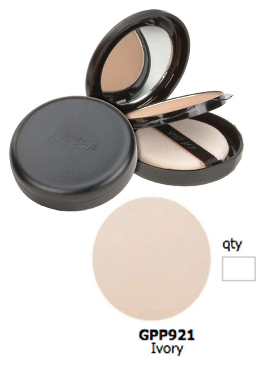 LA Girl Ultimate Pressed Powder - Ivory