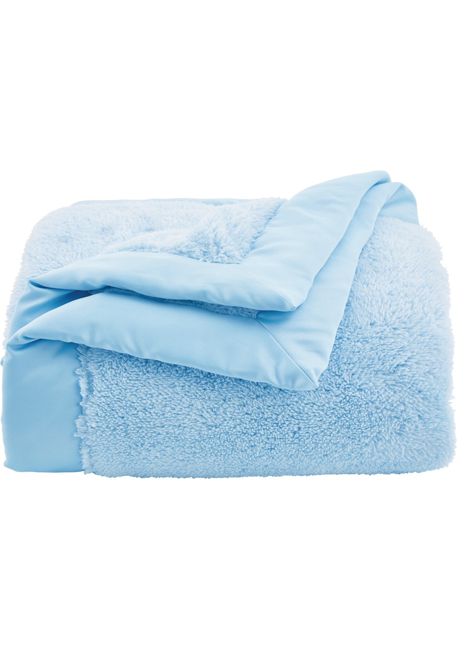 Sheridan - Plushie - Polyester Satin Bound Blanket - Haze