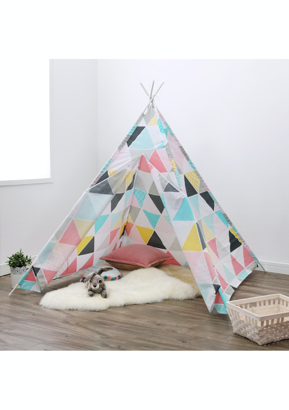 Triangles Tee Pee Tent