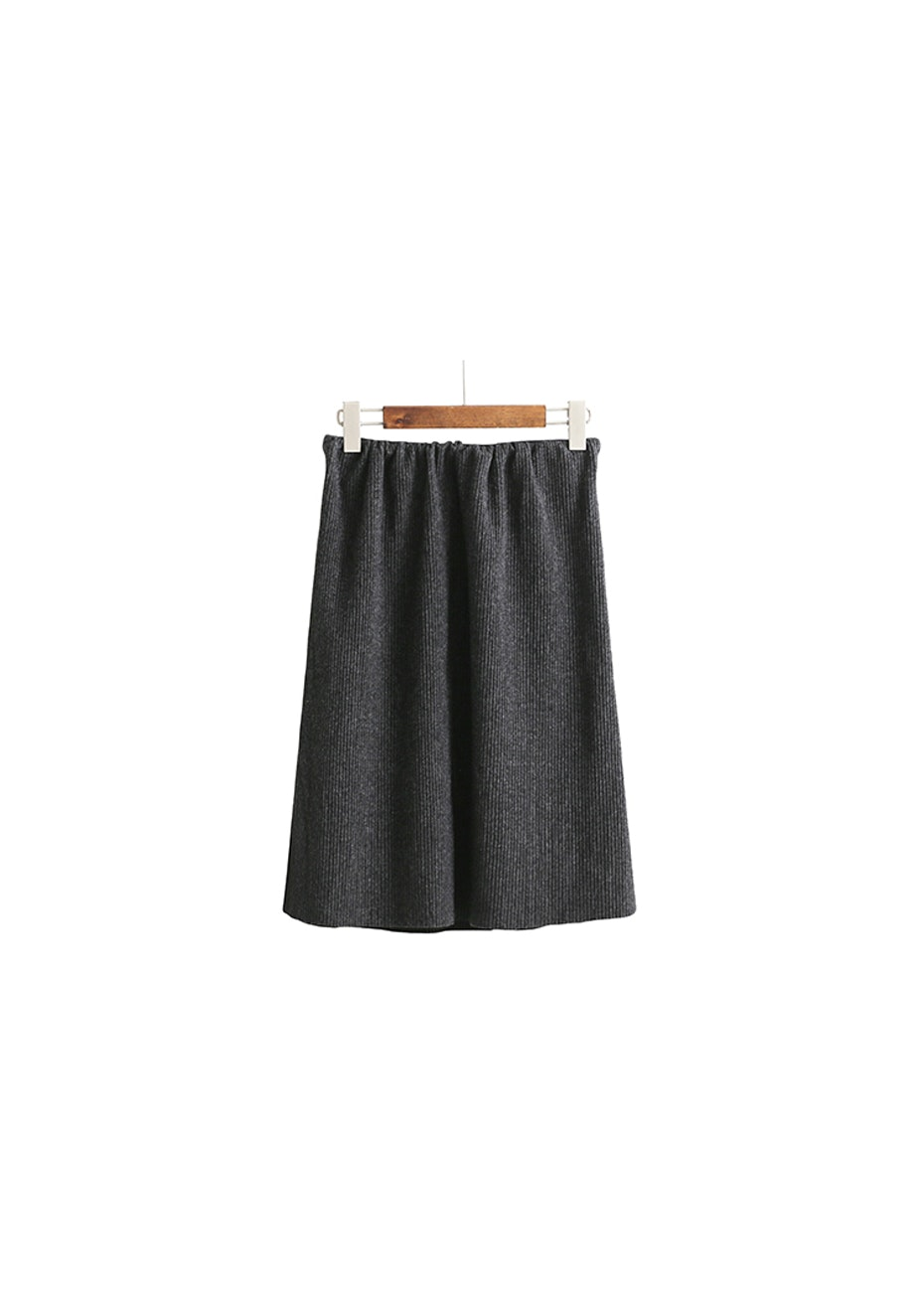 Dillan Knit Skirt  - Grey