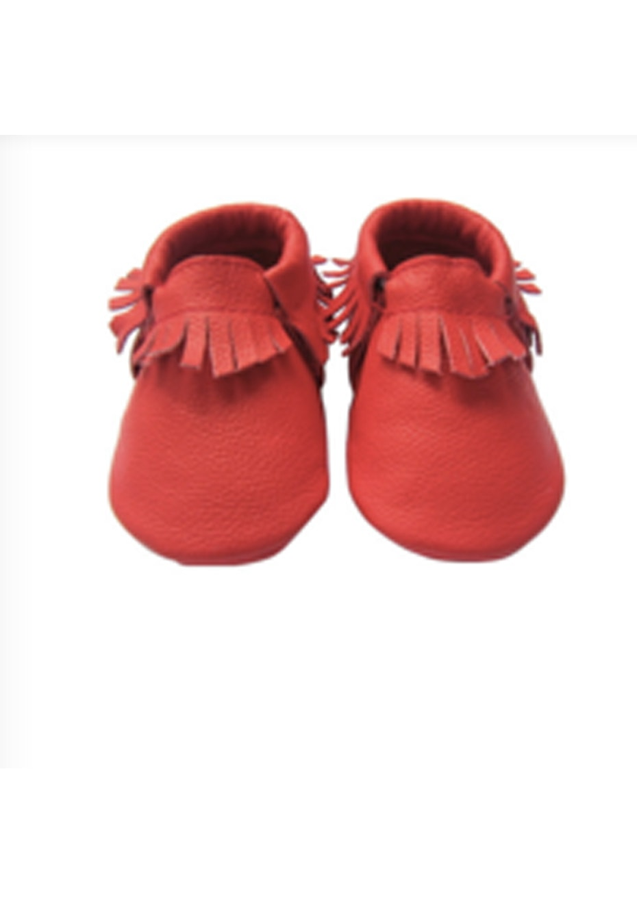 Baby  Leather Shoes - Red