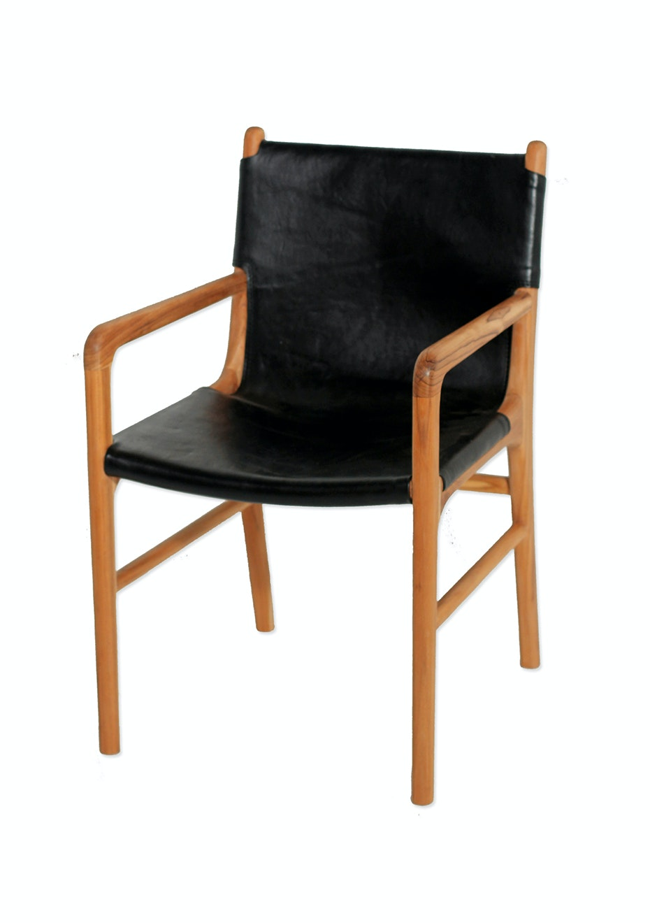wood and leather chair. Kusuma Teak \u0026 Leather Chair With Arms - Black On Trend Furniture More Onceit Wood And