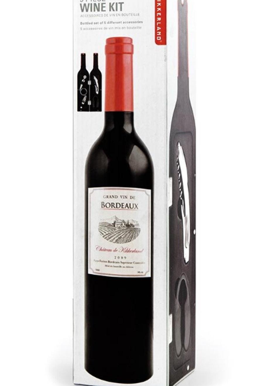 Wine Bottle Accessory Kit Large