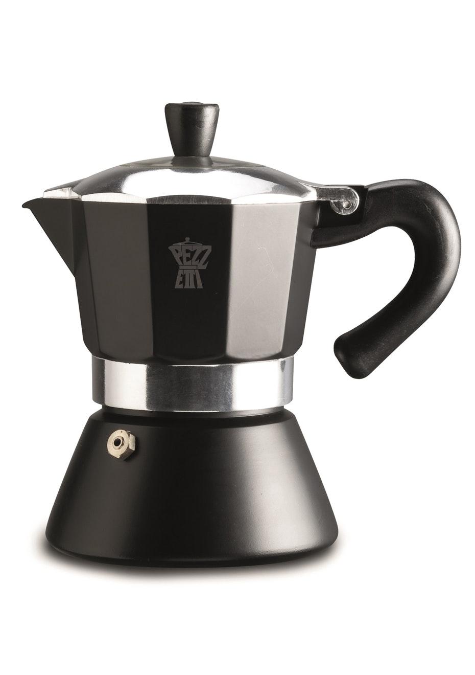 Pezzetti Bellexpress Black Induction Coffee Maker 3Cup