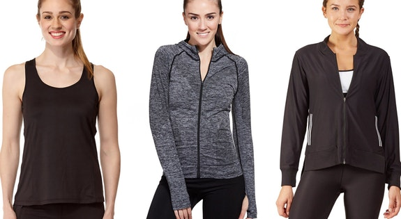 From $19.95 - Workout Tops & Jackets