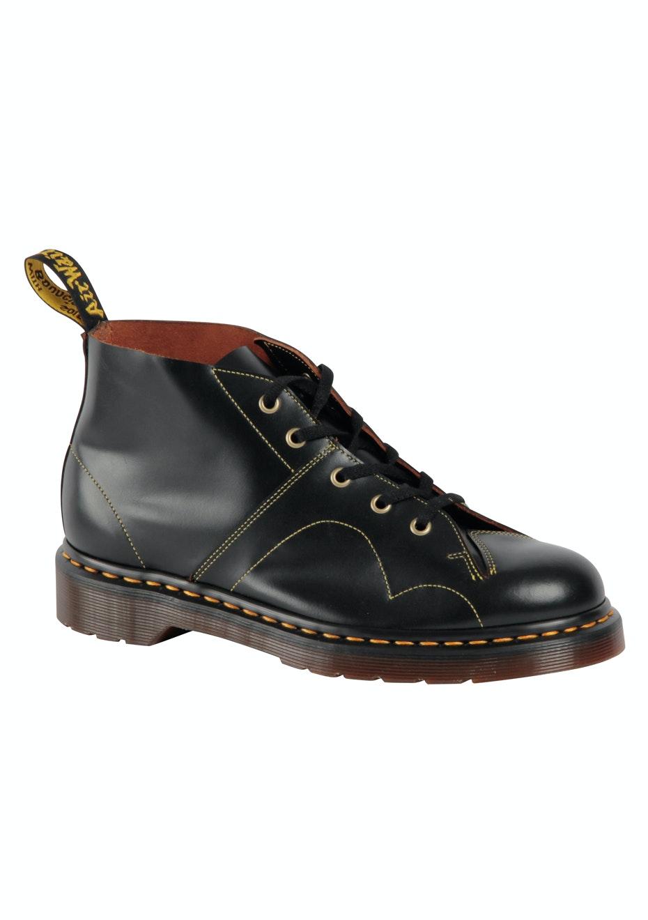 DR MARTENS - Church Monkey Boot - Black