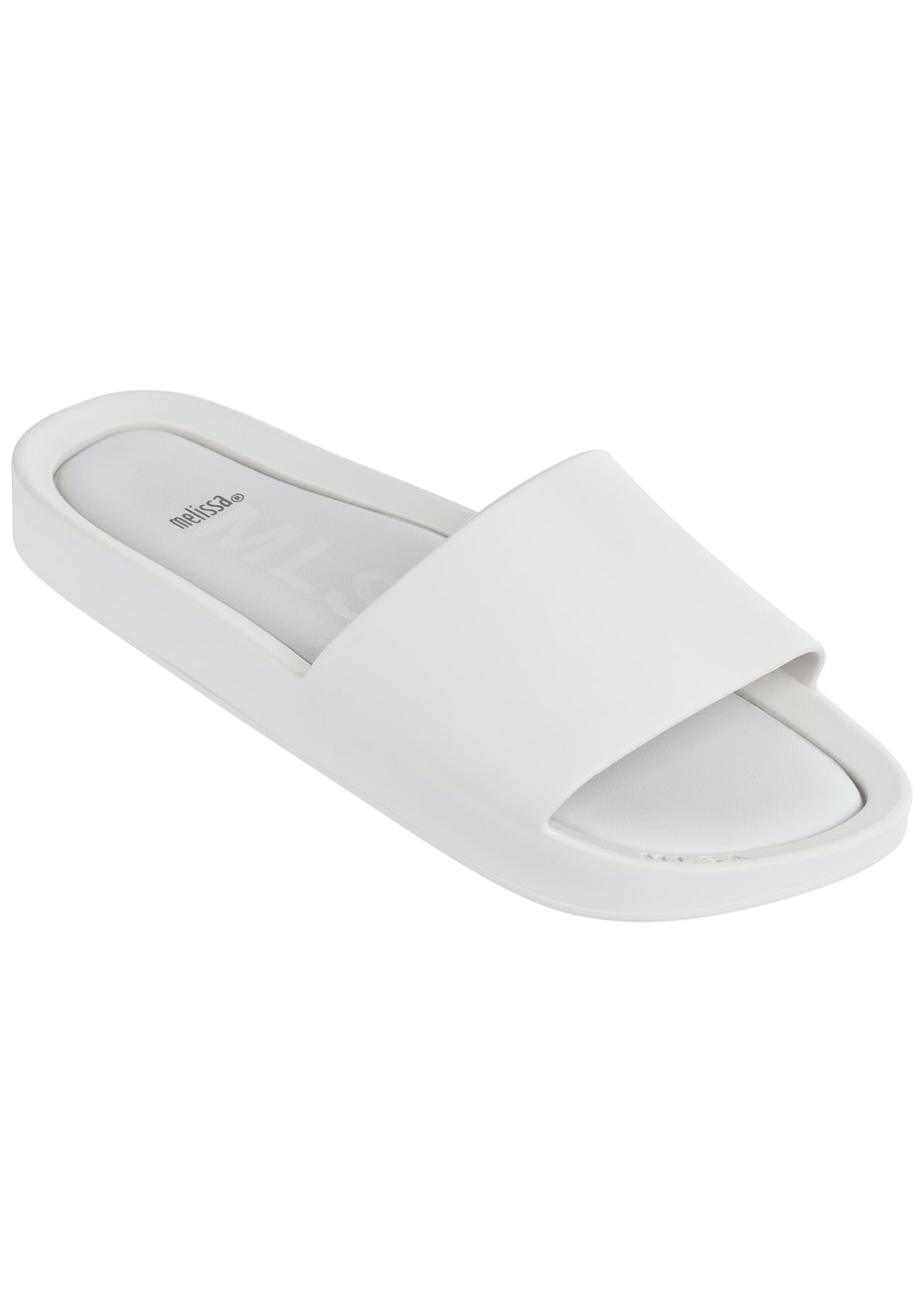 Melissa - Beach Slide - White