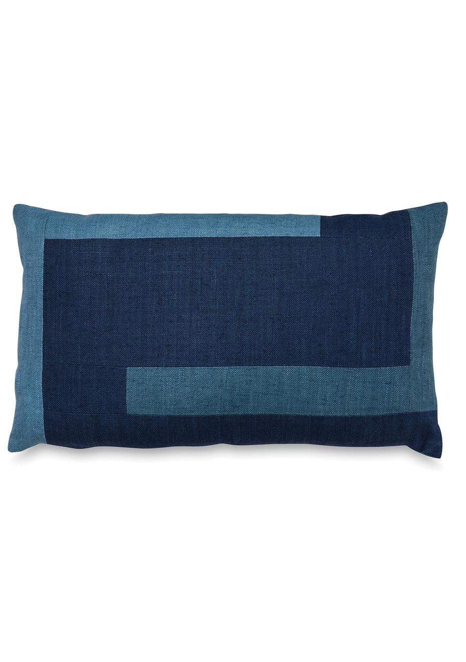 Città - Hamlin Patchwork Linen Cushion Cover