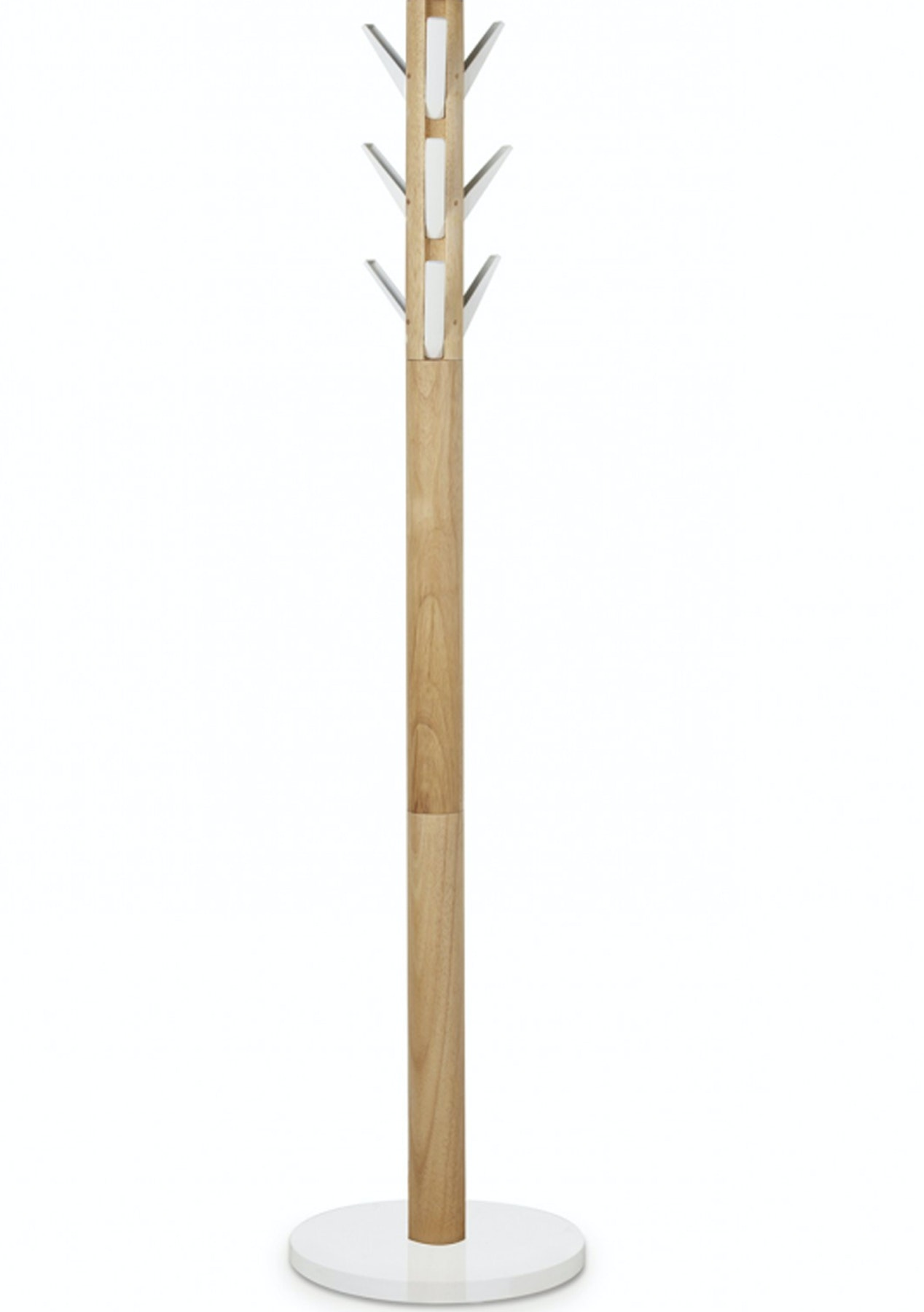 Umbra Flapper Coat Rack White Natural Umbra Home