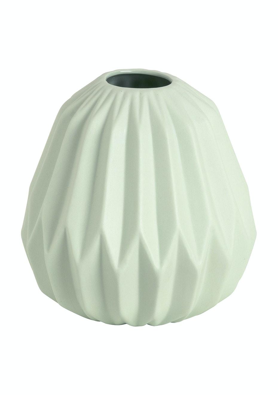Jason - Geometric Vase - Sage
