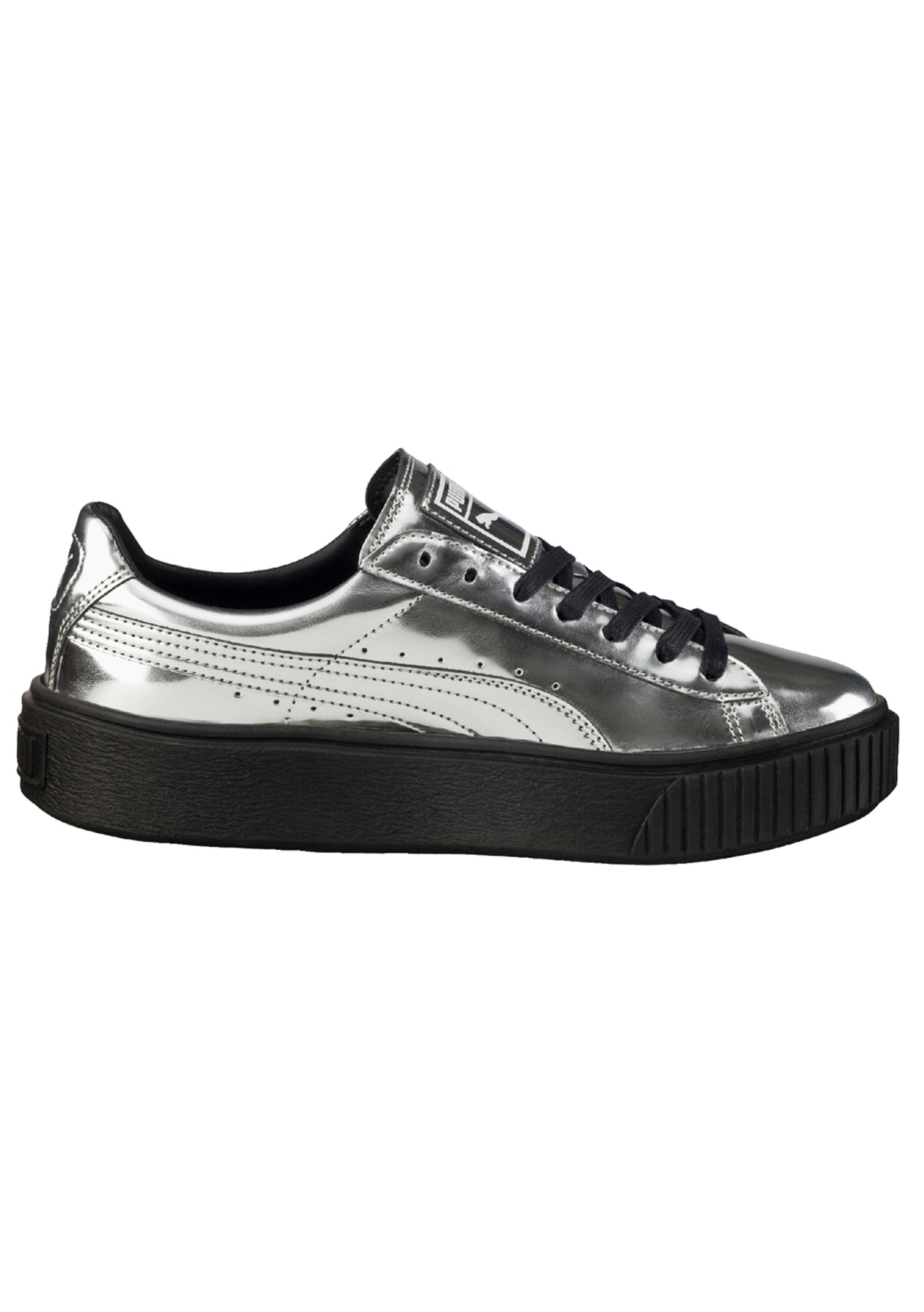 Puma Basket Creepers Metallic