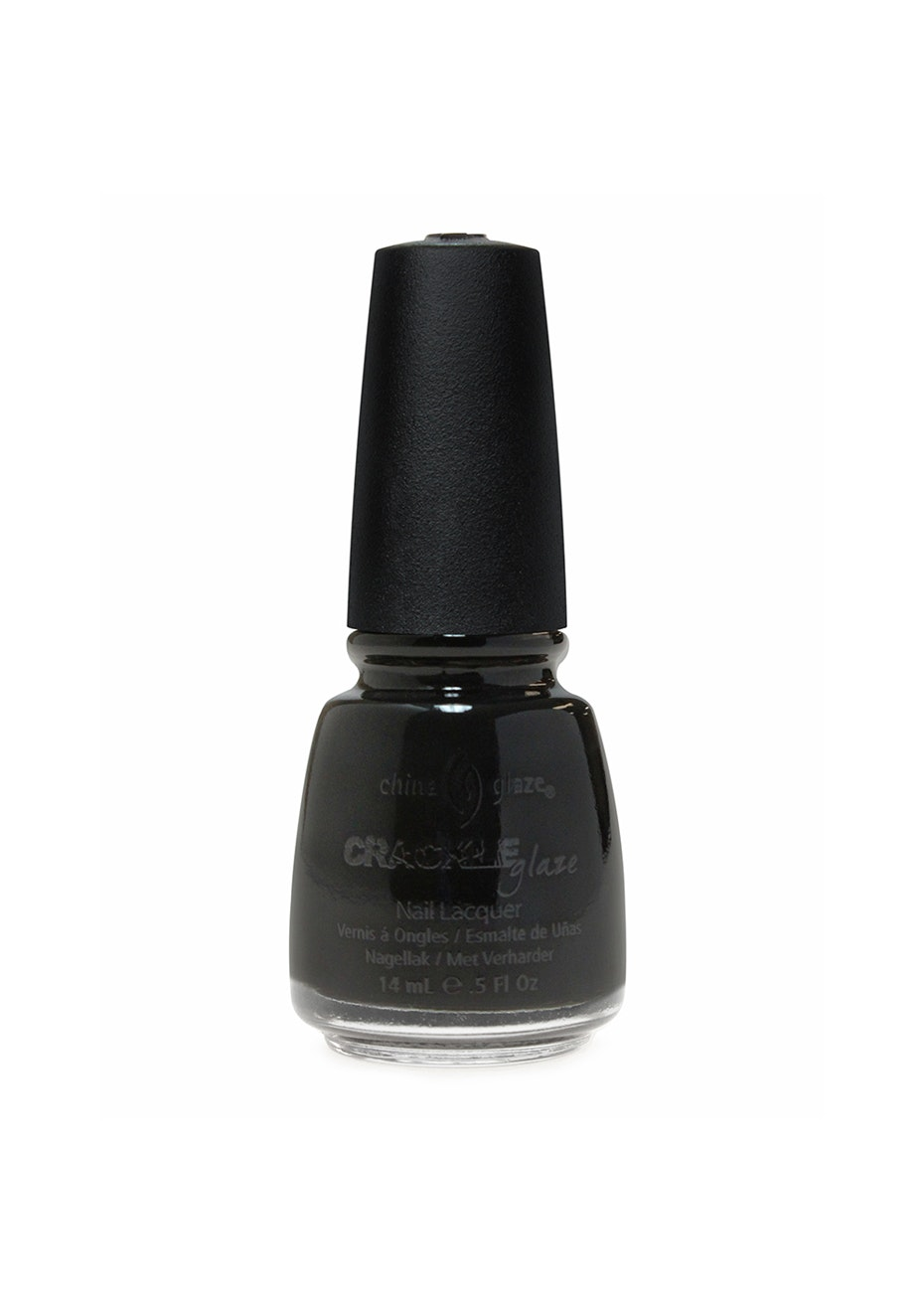 China Glaze Crackle Collection #980 BLACK MESH