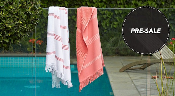 Image of the 'Turkish Towels Pre-Sale' sale