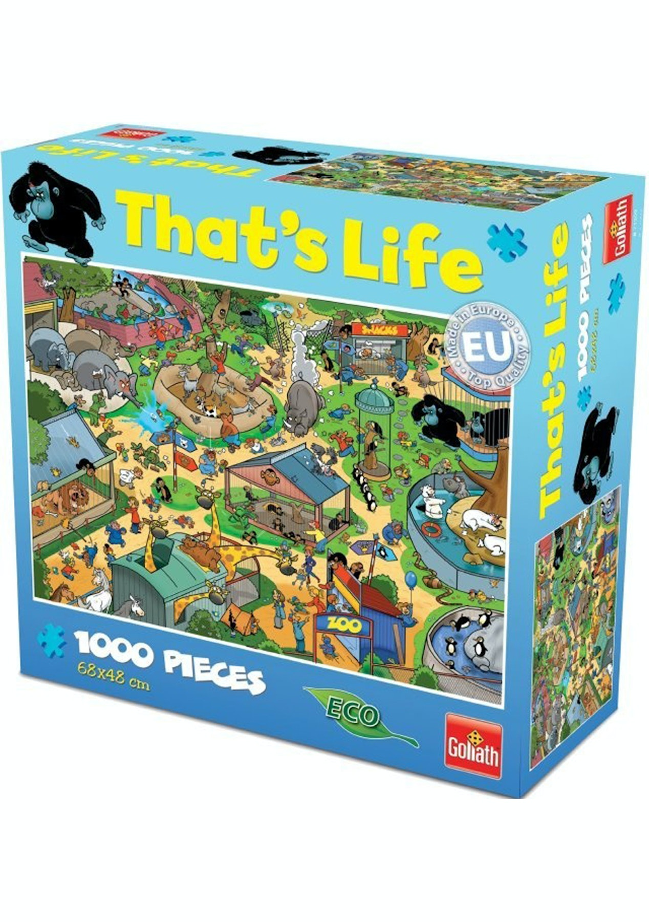 That's Life 1,000 Piece Jigsaw Puzzles