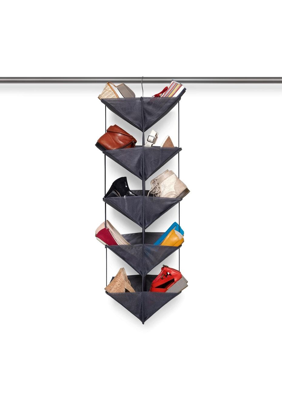 Umbra - Enfold Shoe Organiser - Charcoal
