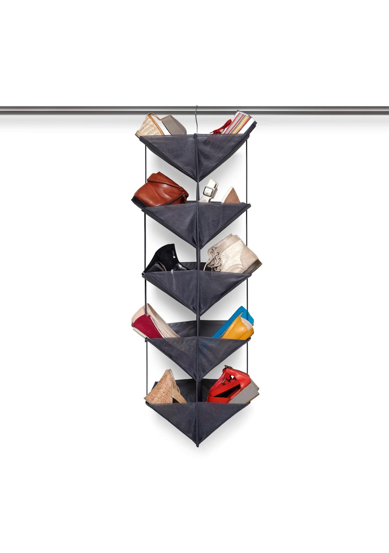 Umbra enfold shoe organizer charcoal homeware - Organizador de zapatos ...