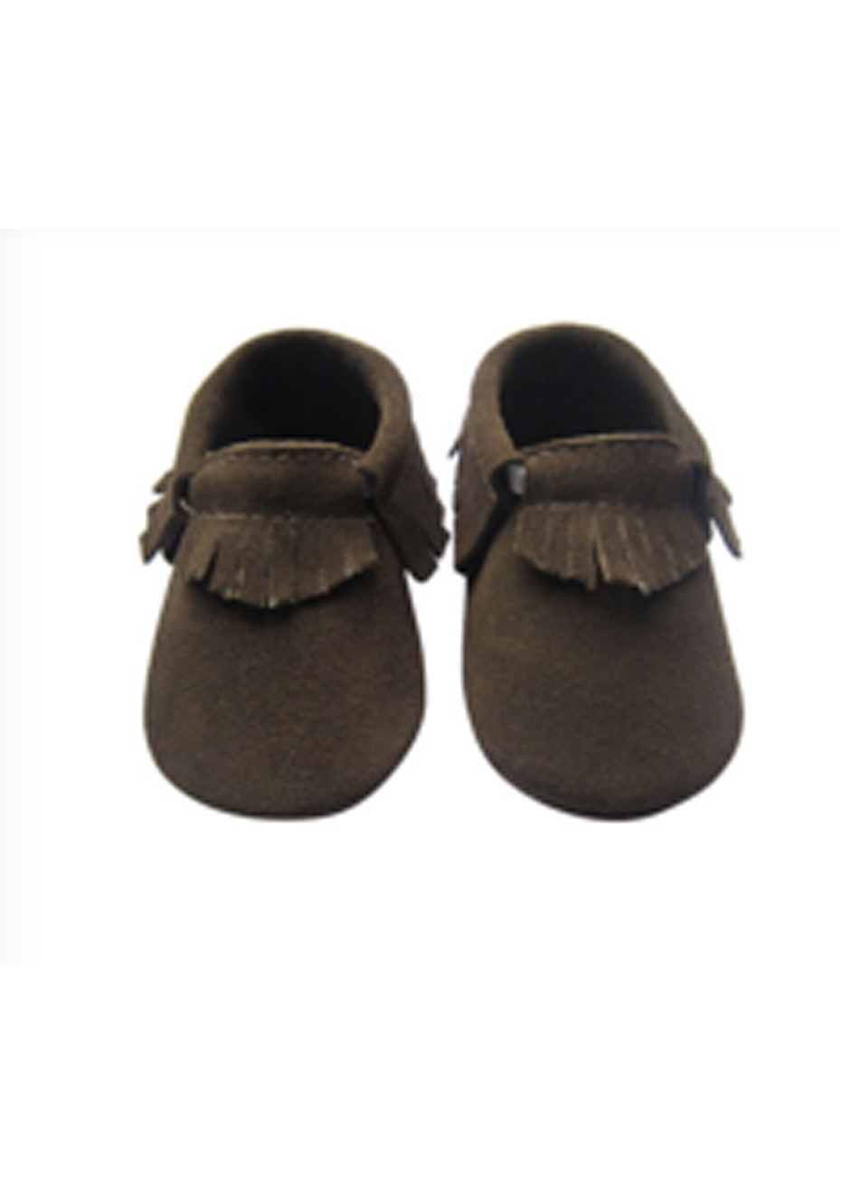 Baby  Leather Shoes - Chocolate