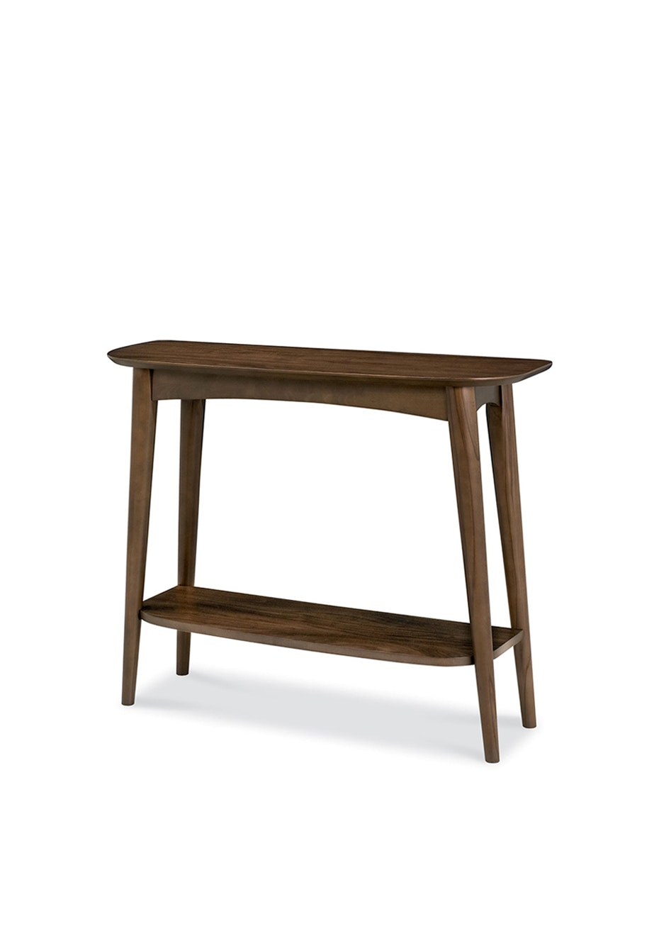 Furniture By Design - Oslo Console/Desk- Walnut Veneers and Solid Walnut