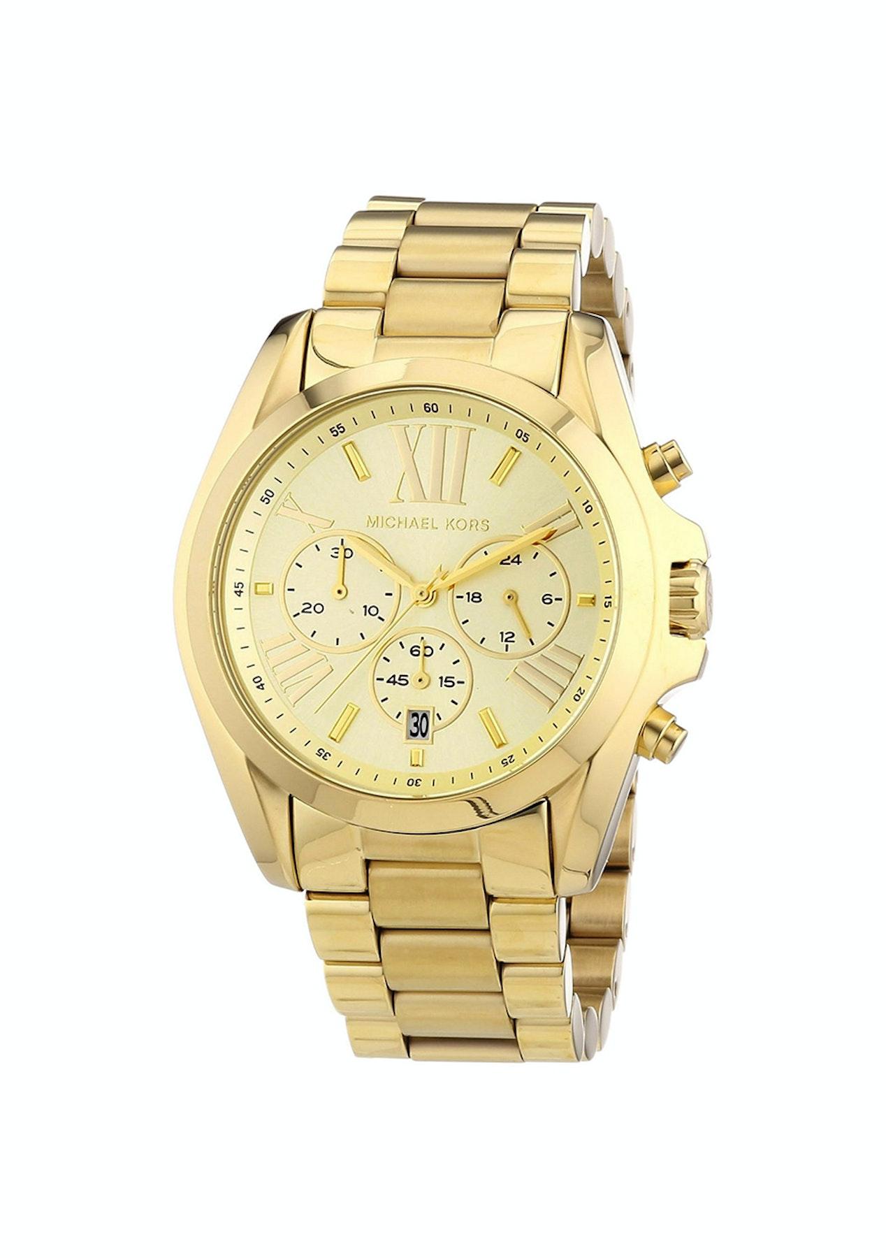 54707cd28e6 Michael Kors Women's Bradshaw - Gold - New Year, New Watch - Onceit