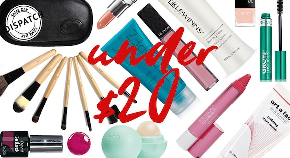 Image of the 'Under $20 Beauty' sale