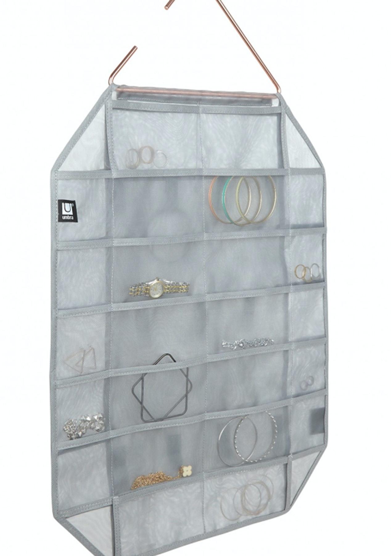 Facetta jewelry organizer grey umbra homewares onceit for Terrace jewelry organizer by umbra