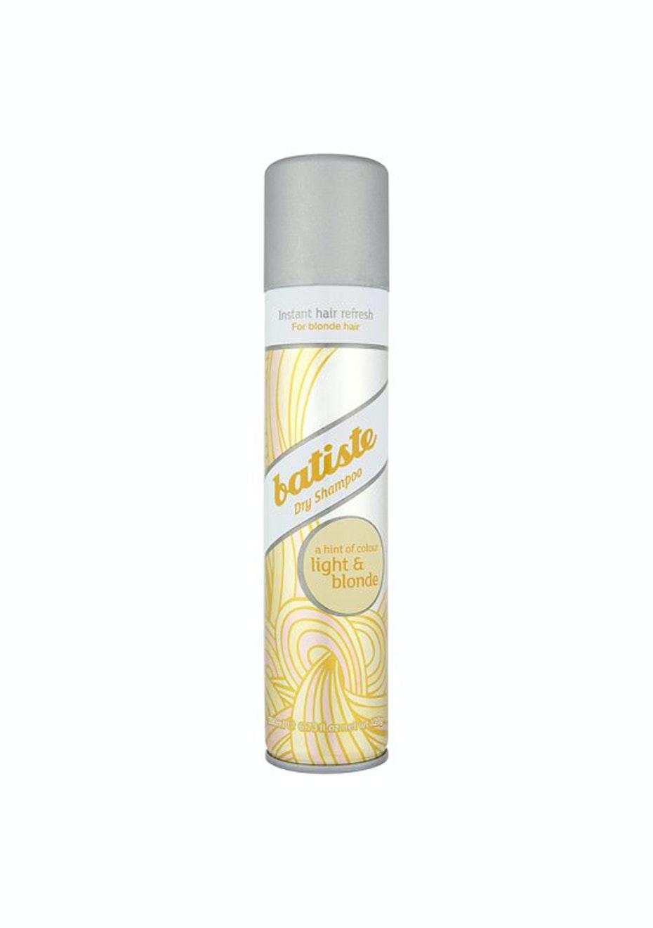 Batiste Dry Shampoo Plus A Hint Of Colour Brilliant Blonde 200ml