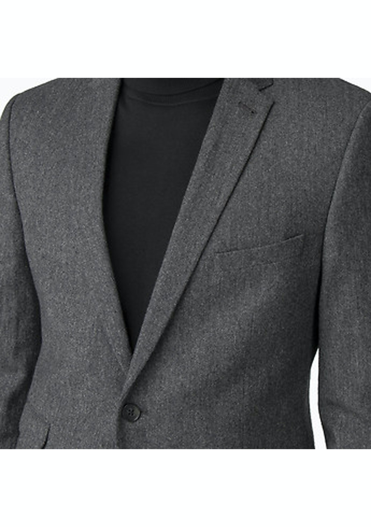 43a35d6373aeb1 Ben Sherman - British Charcoal Donegal Jacket Charcoal - Ben Sherman -  Onceit