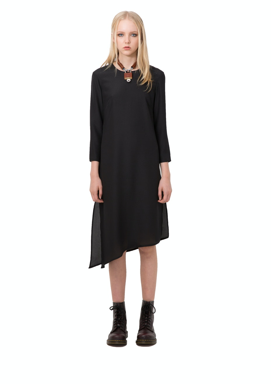 Stolen Girlfriends Club - Thigh Master Dress - Black
