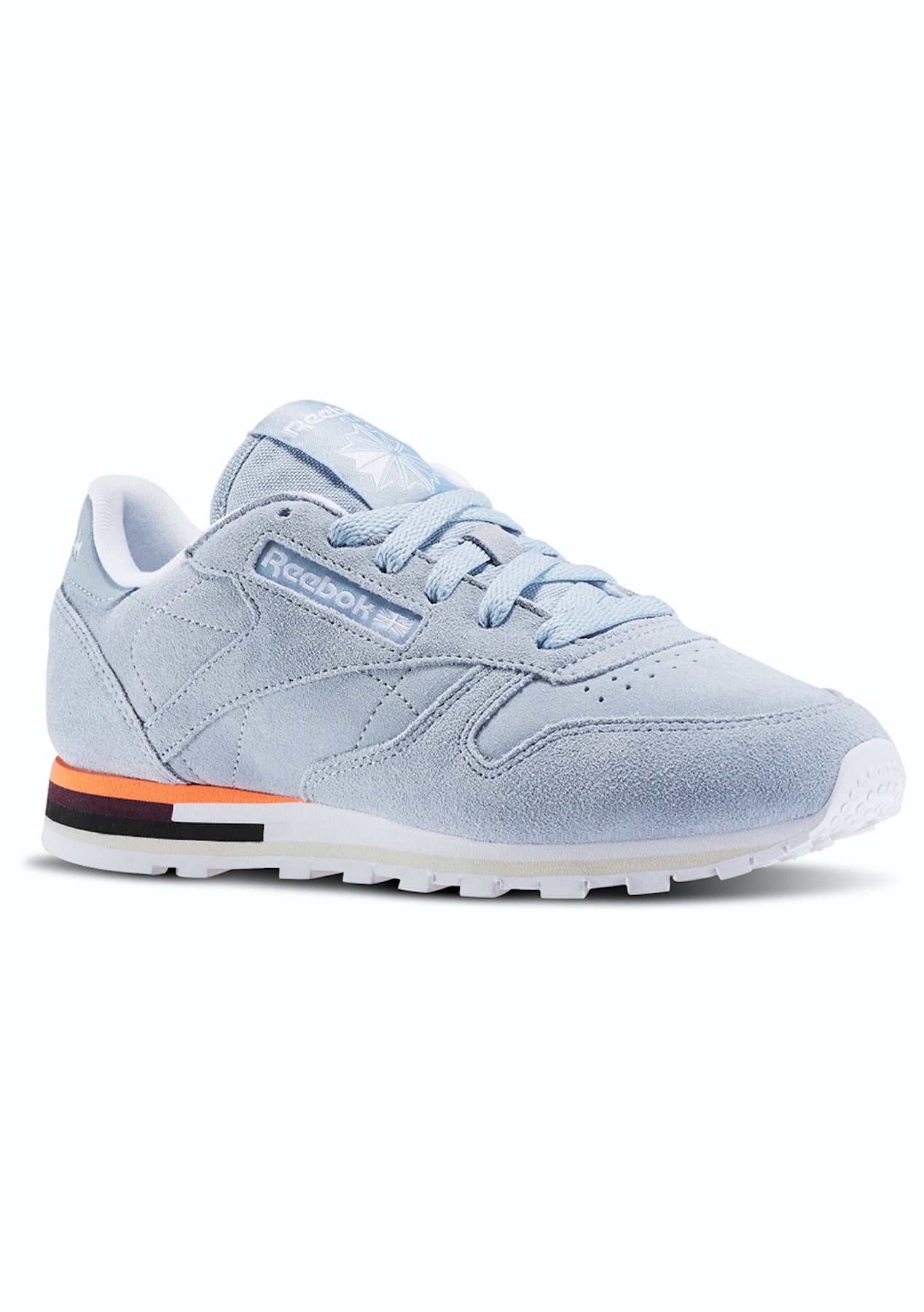 8ec74362beb Reebok Womens - Classic Leather Mh Gable Grey White - Free Shipping Shoe  Sale - Onceit