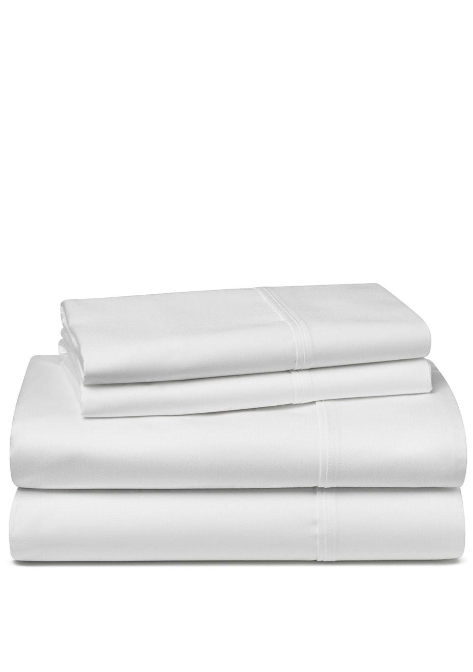 Palazzo Royale 1500TC Premium Blend Sheet Set King Bed Snow White
