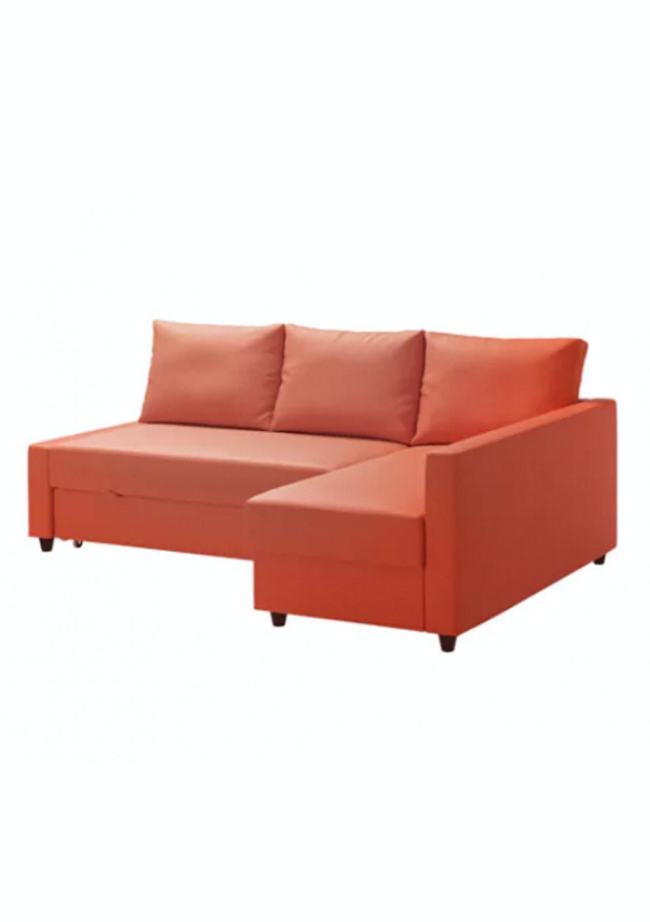 Sofa Friheten Ikea.Ikea Friheten Corner Sofa Bed With Storage Skiftebo Dark Orange