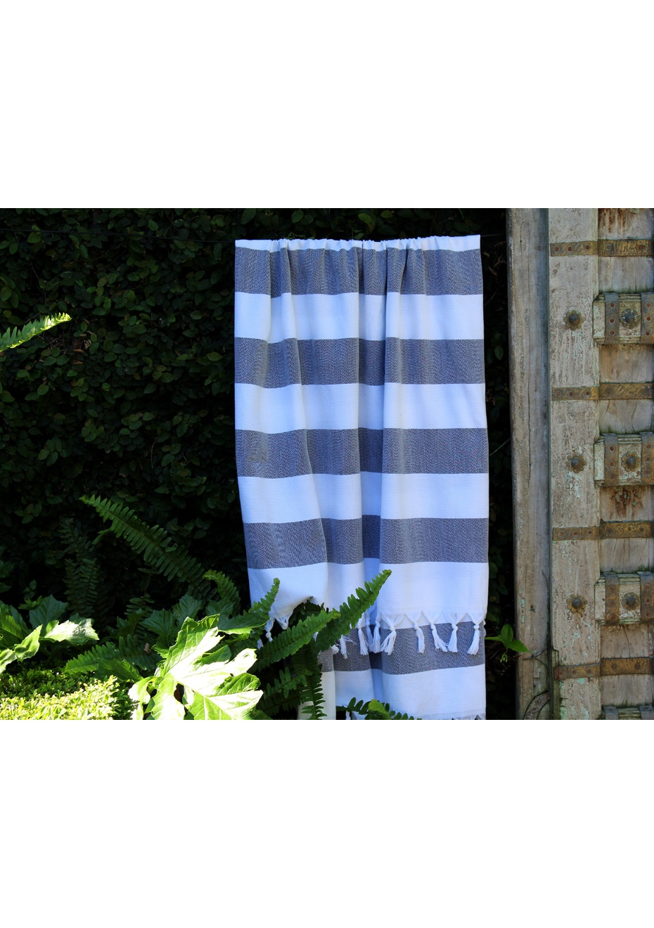 Cabana Black Turkish Towel