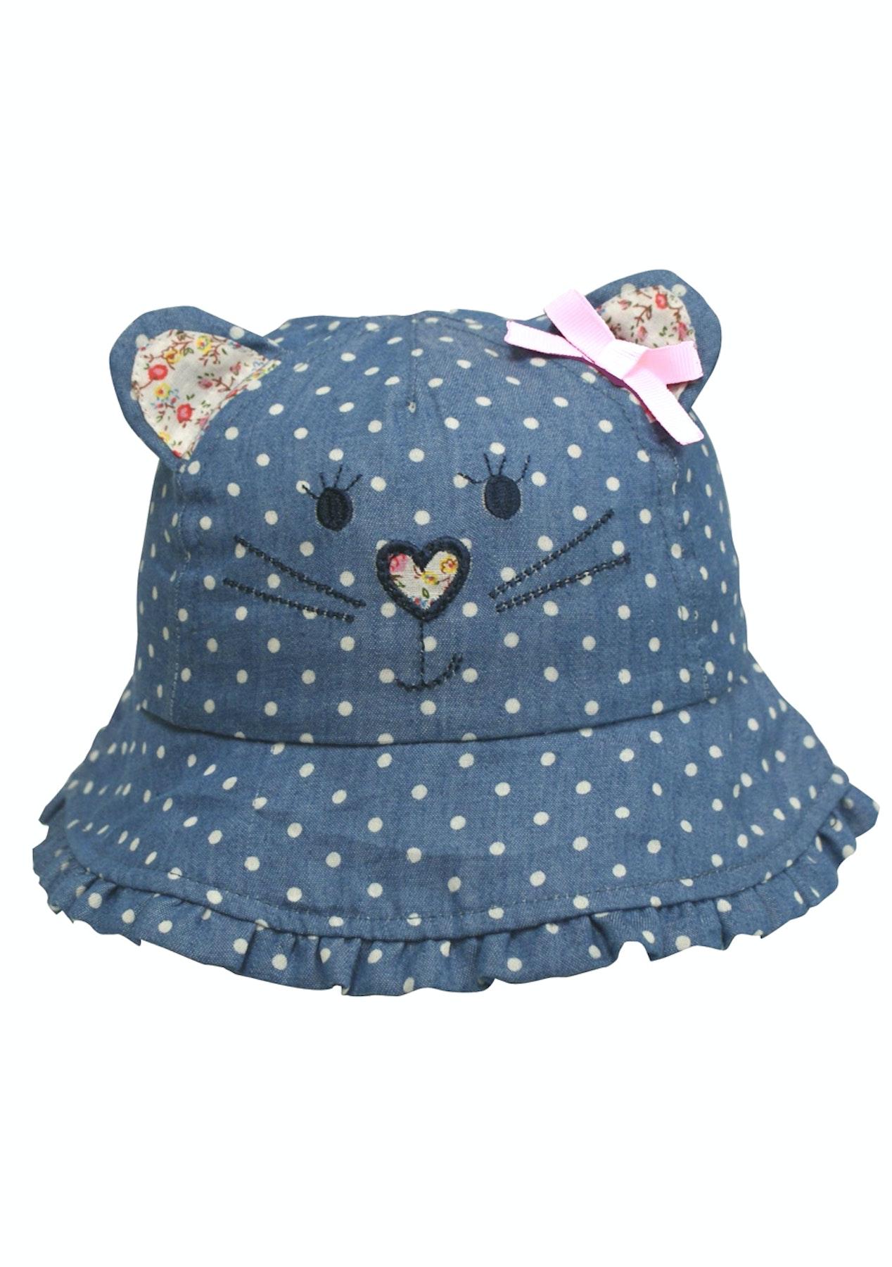 396ce023185 Hi-Hop Spotty Cat Girls Bucket Hat - Big Baby Sale - Onceit
