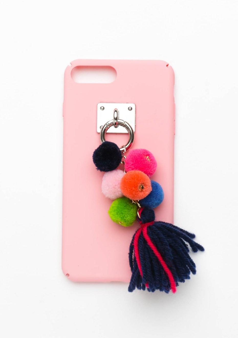 Tassel Pom Pom Case - Iphone 7 Plus