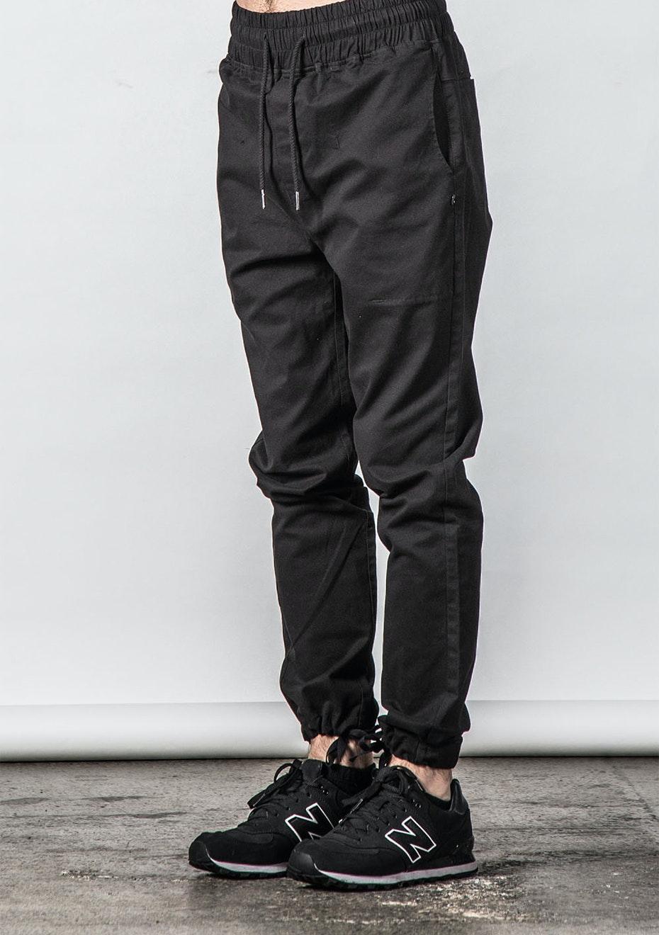 Thing Thing - Cinched Dojo Pant  - Black RX