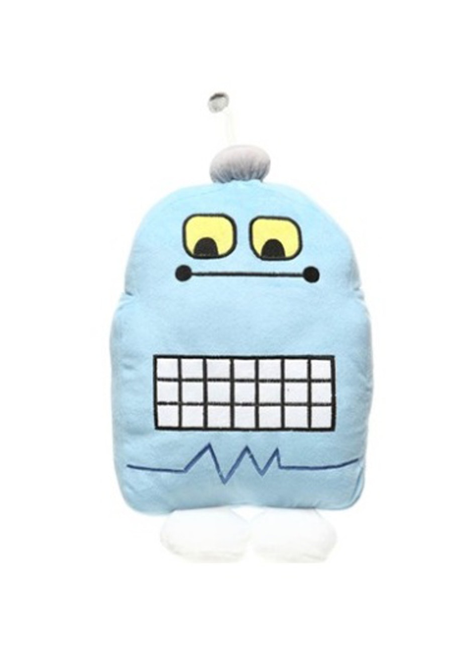 Blue Robot Cushion