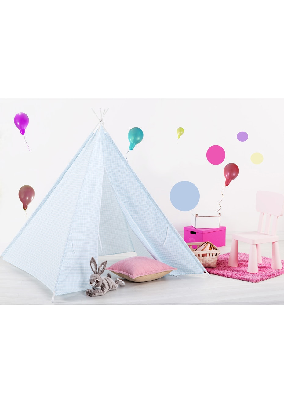 Checks Tee Pee Tent