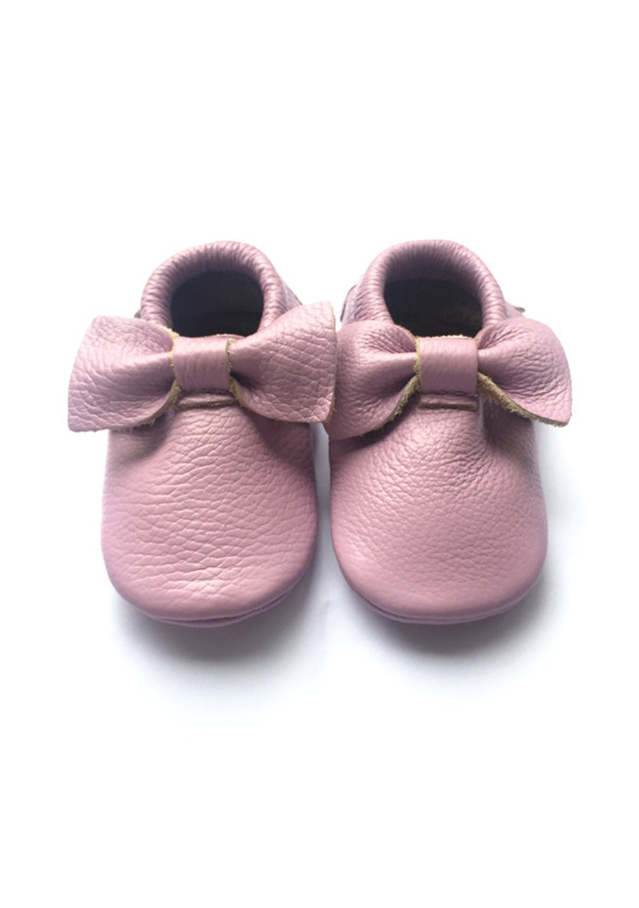 Baby  Leather Shoes - Lavendar