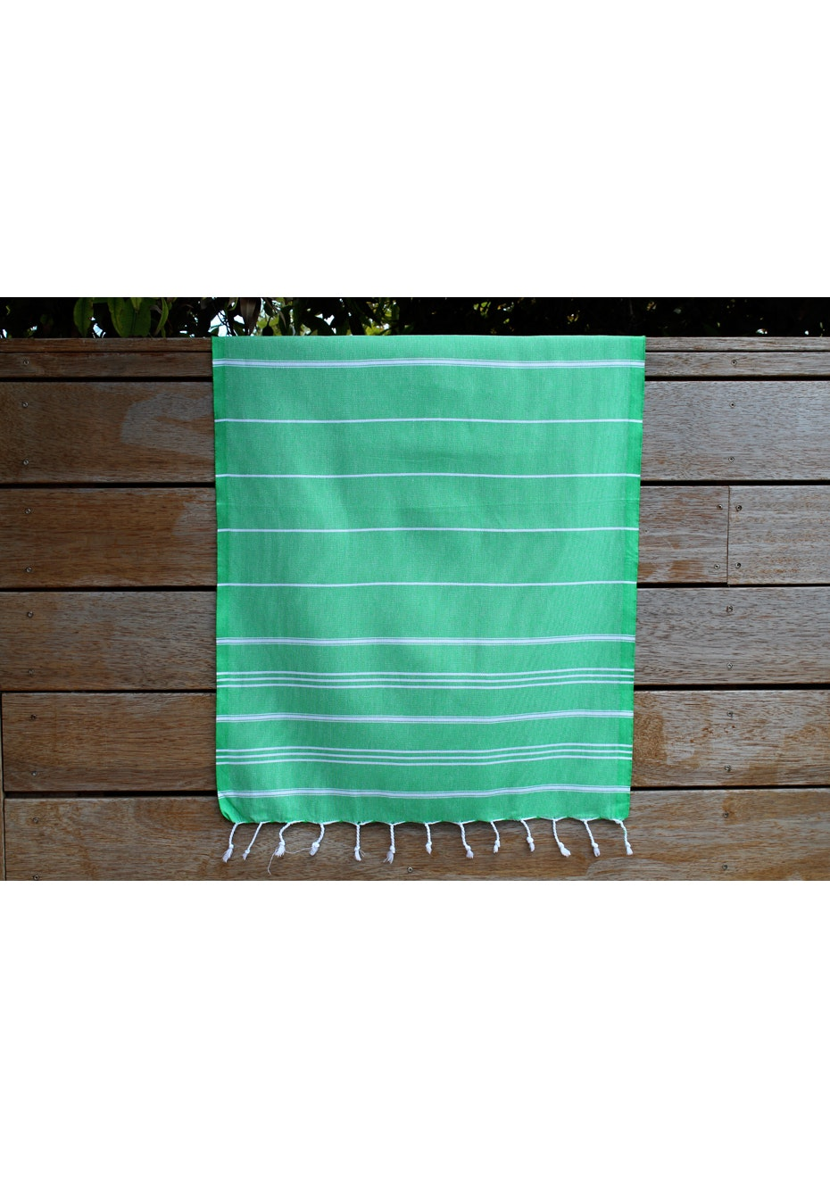 De La Mer Green Small Turkish Towel