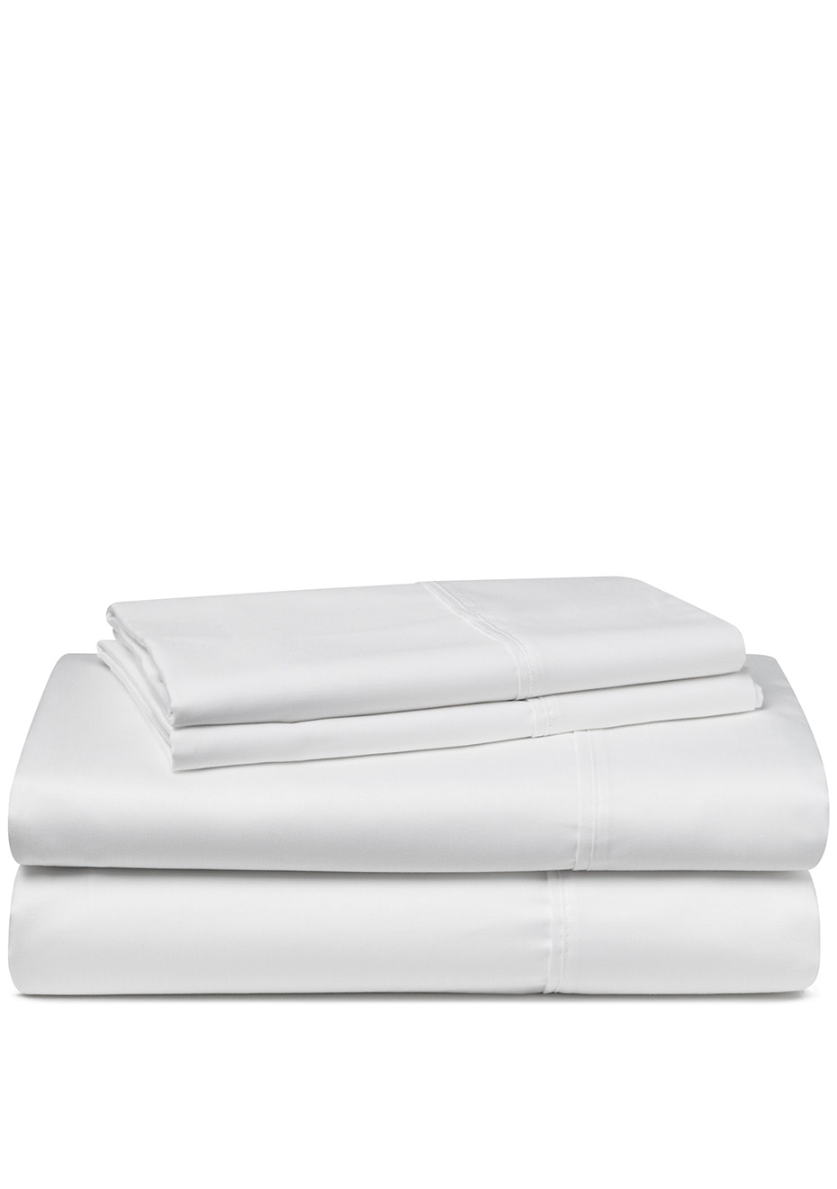 Palazzo Royale 1000 Thread Count Premium Blend Sheet Set Queen Bed Crisp White